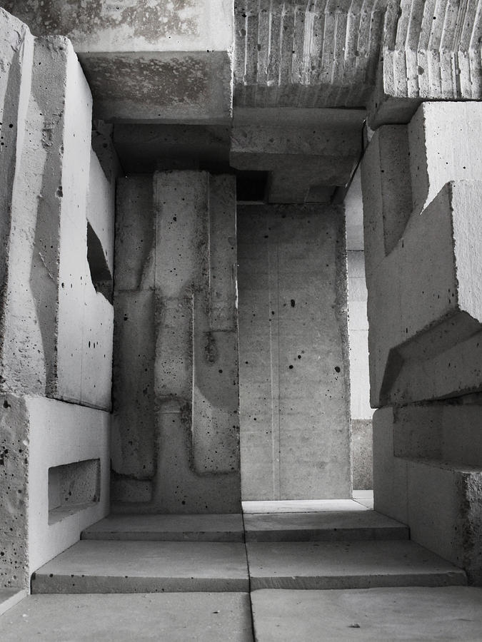 Architecture Photograph - Inside The Walls 2 by David Umemoto