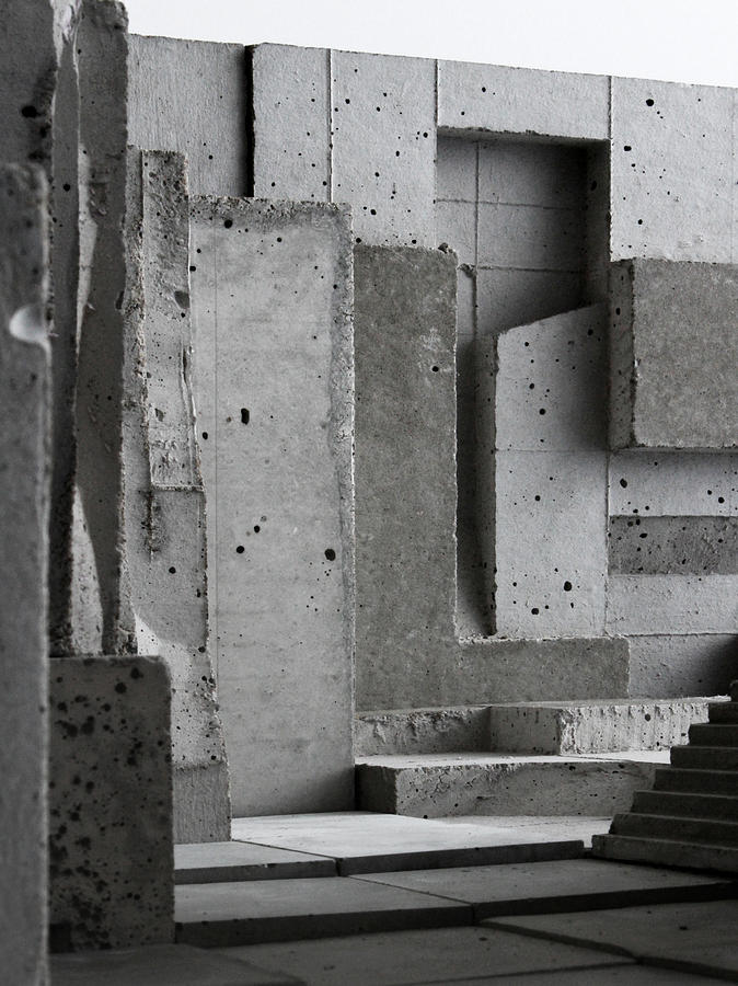 Architecture Photograph - Inside The Walls 3 by David Umemoto