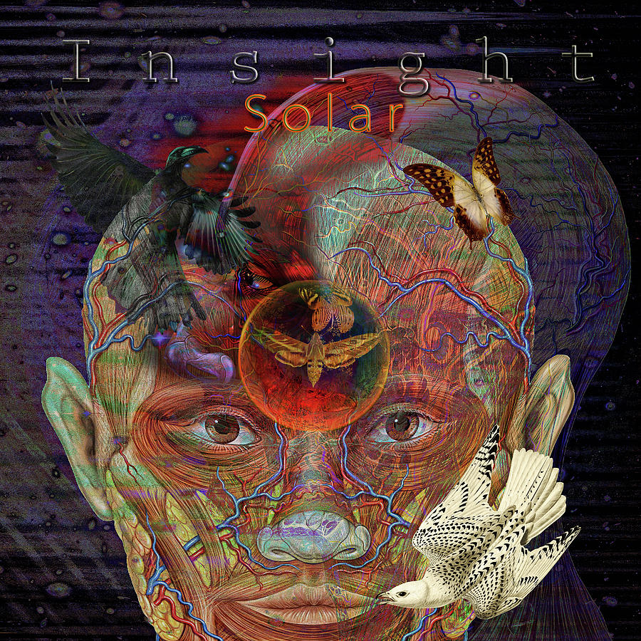 Climate Change Digital Art - Insight To Speak Of..  Solar by Joseph Mosley