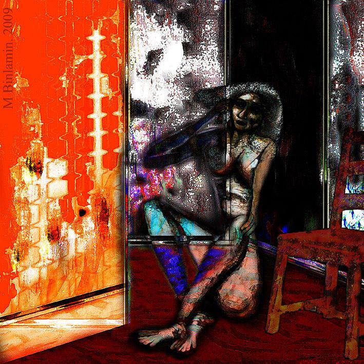 Insomnia 2 Mixed Media by MBL Binlamin