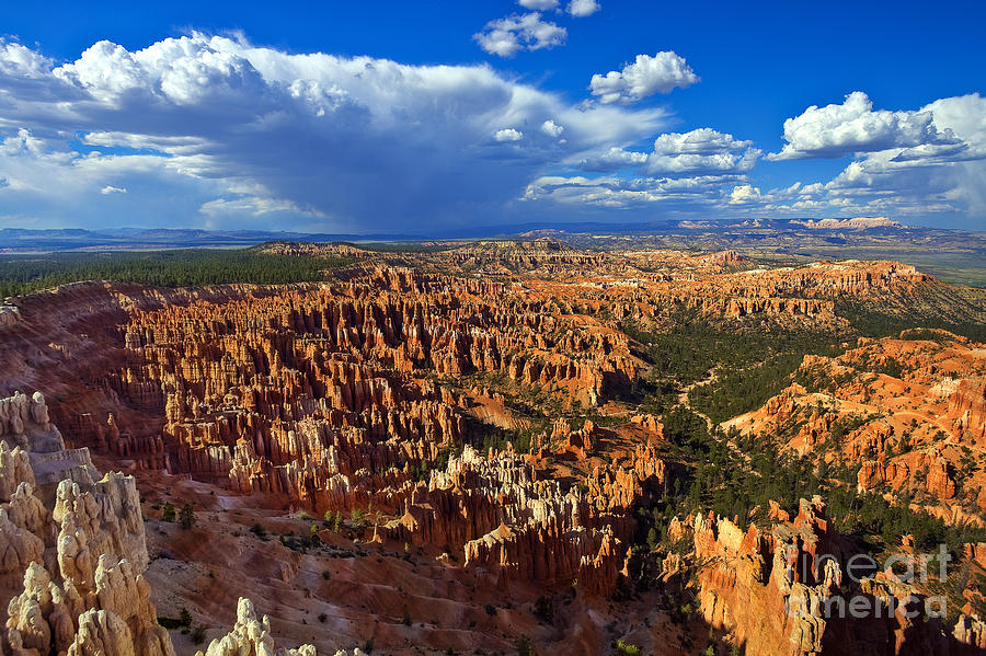 Bryce Canyon Photograph - Inspiration Afternoon by Greg Clure