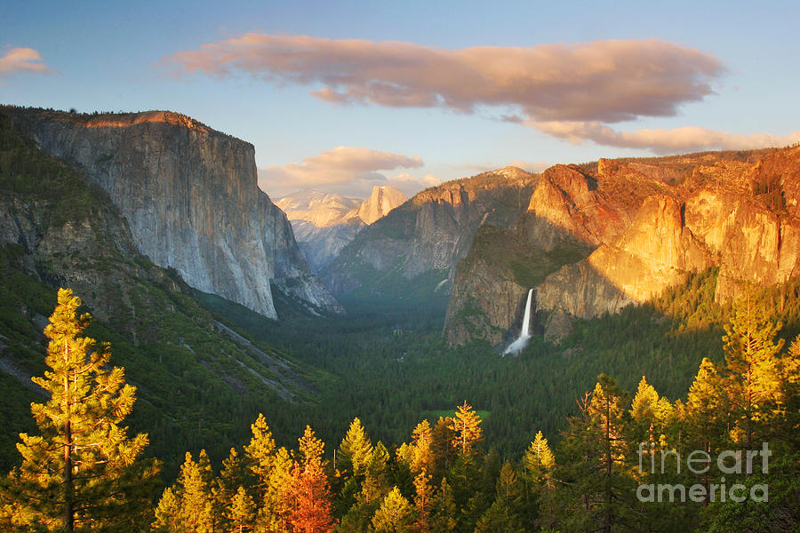 Yosemite Photograph - Inspiration Point Yosemite by Buck Forester