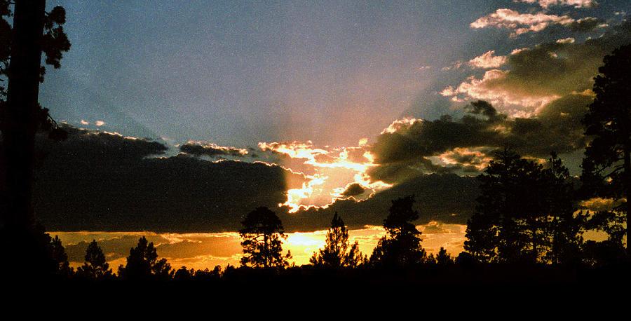 Arizona Photograph - Inspiration Sunset by Randy Oberg