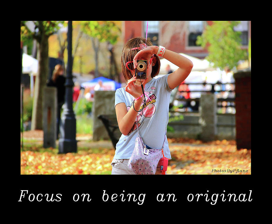 Inspirational Photograph - Inspirational- Focus by Brian Pflanz