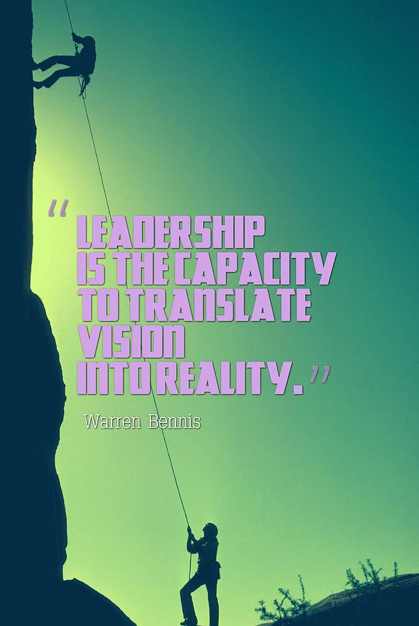 Inspirational Quotes Leadership 2 Painting By Celestial Images