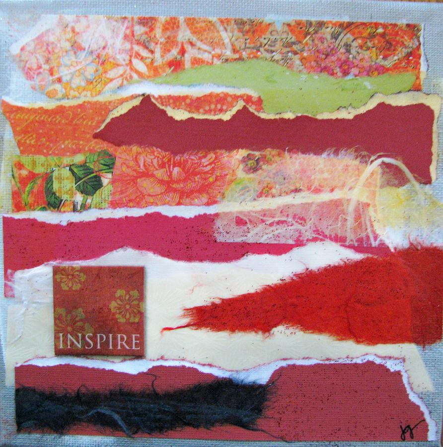 Mixed Media Mixed Media - Inspire by Jackie Griswold