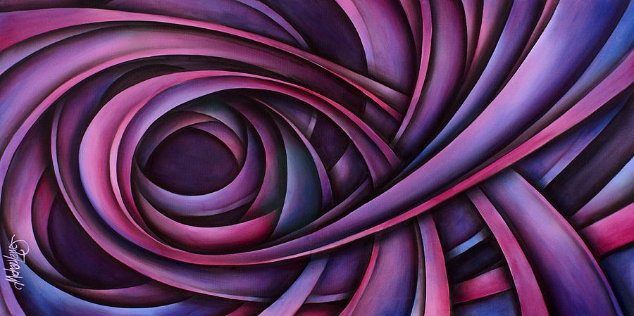 Abstract Design Painting - Inspire by Michael Lang