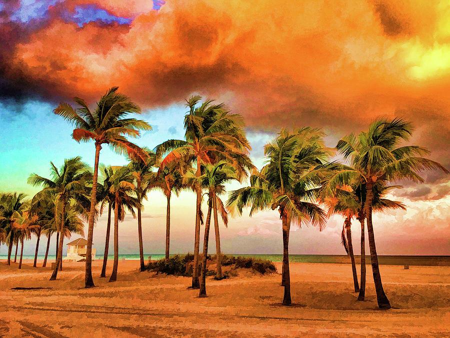 Crandon Park Beach by Stefan Mazzola