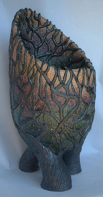 Sculpture Sculpture - Inspired By Trees 1 by Theodora Kurkchiev
