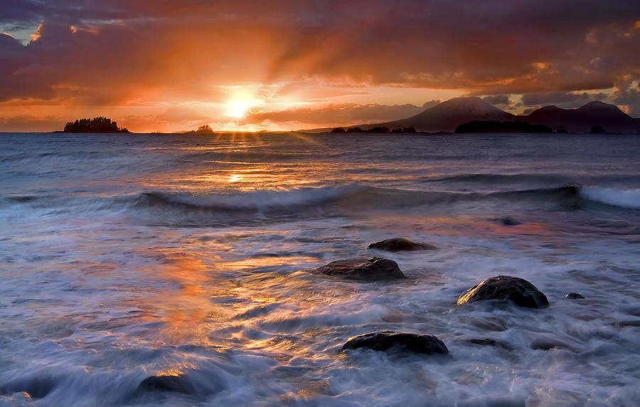 Alaska Photograph - Inspired Light by Mike  Dawson