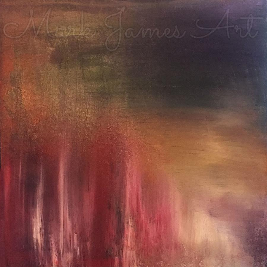 Abstract Painting - Inspired by Mark James