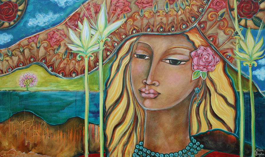 Visionary Women Artists Painting - Inspired by Shiloh Sophia McCloud