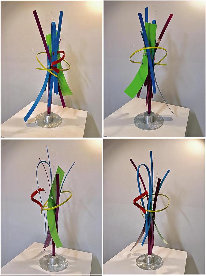 Welded Sculpture - Inspired Vain by Mac Worthington