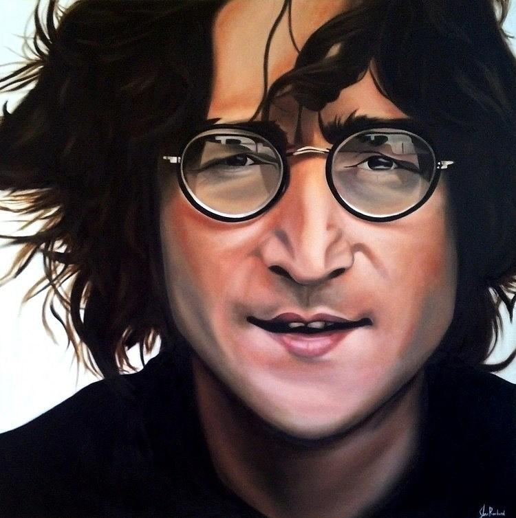 John Lennon Painting - Instant Karma by Jena Rockwood