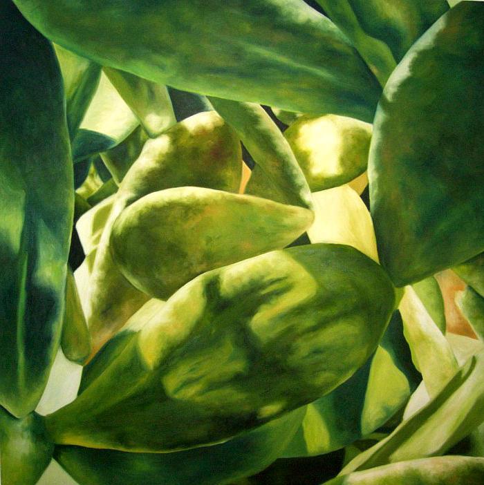 Carmen America Painting - Instante De Luz II by America  Rodriguez Sanchez
