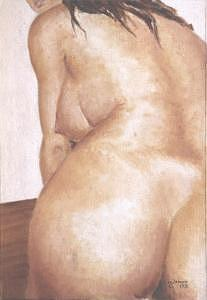 Nude Painting - Instants by Marcello Romeiro
