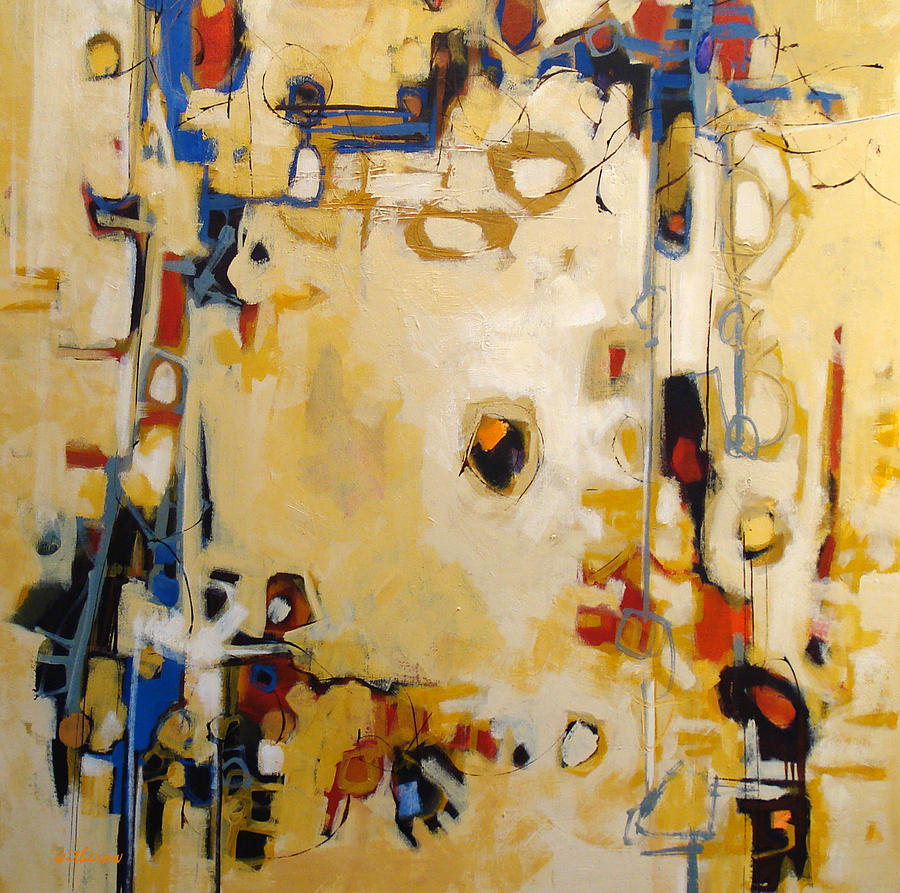 Abstract Painting - Intangible by Dale  Witherow