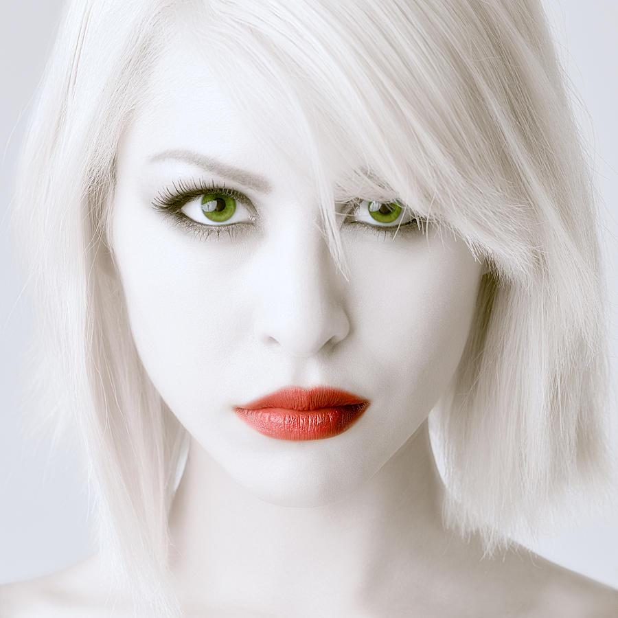 Beauty Photograph - Intense Beauty by Michael Scorsur