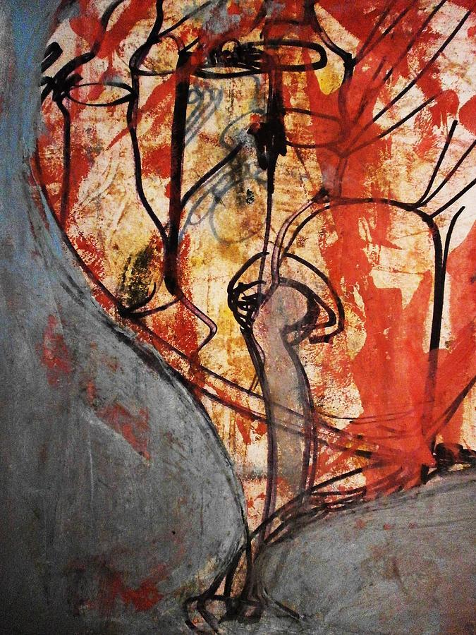 Painting Painting - Intensify by Hugo Razlerfight