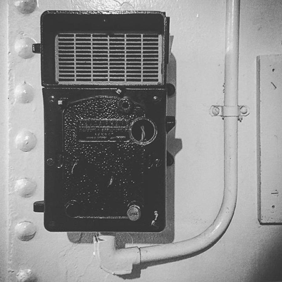Ww2 Photograph - Intercom System On The #queenmary In by Alex Snay