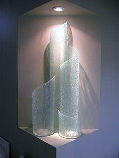 Glass Sculpture - Interconnected by Rick Silas
