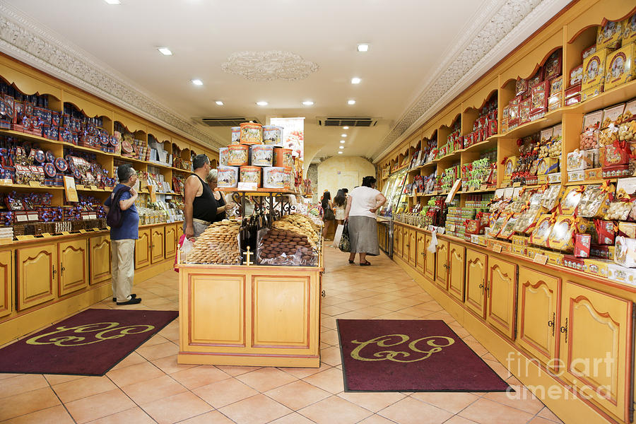 Interior Of A Confectionery Shop Photograph