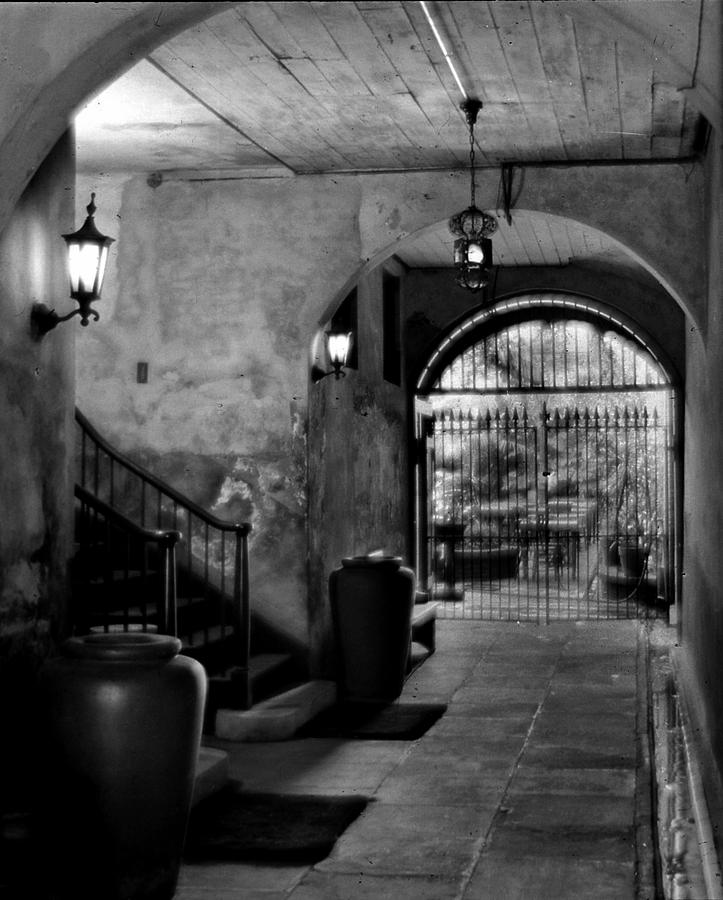 New Orleans Photograph - Interior Patio by Crescent City Collective