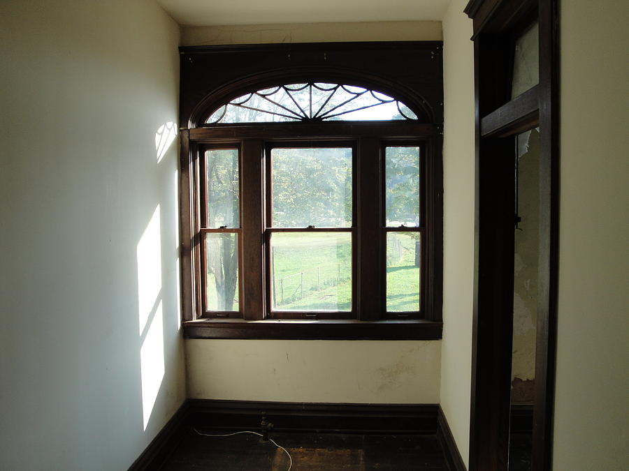 Window Photograph - Interior Window by Terry  Wiley