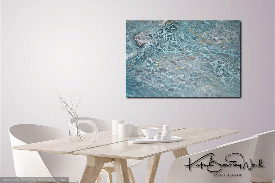 Interior with Aquatic 3 by Kate Word
