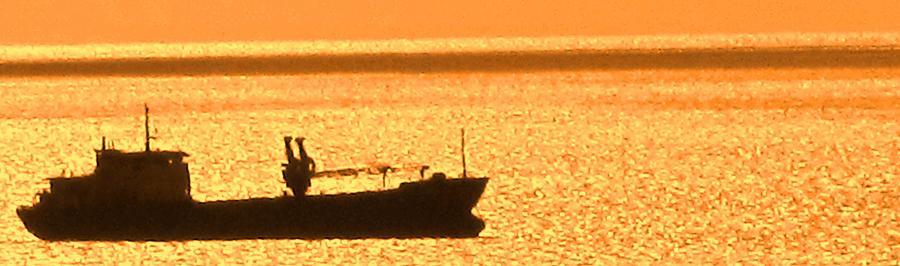 Ship Photograph - Interisland Freighter by Ian  MacDonald