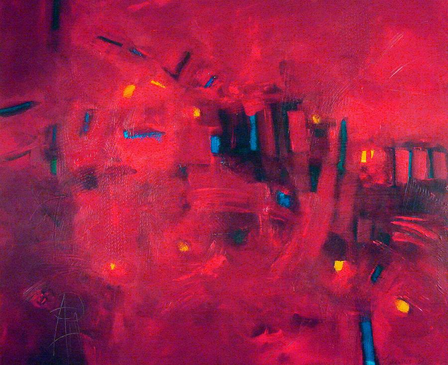 Abstract Painting Painting - Interlude II by Filomena Booth