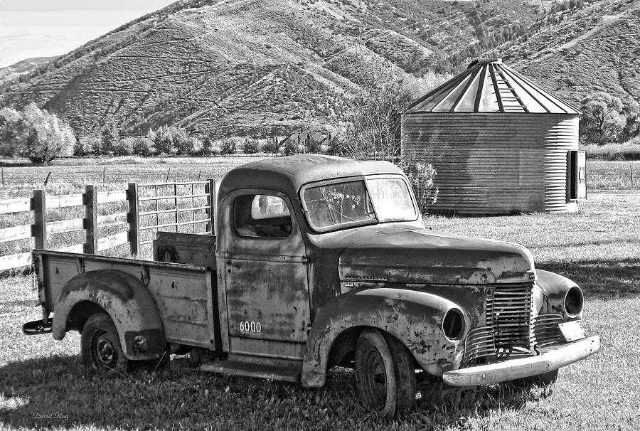 Photograph Photograph - International Farm Bw by David King