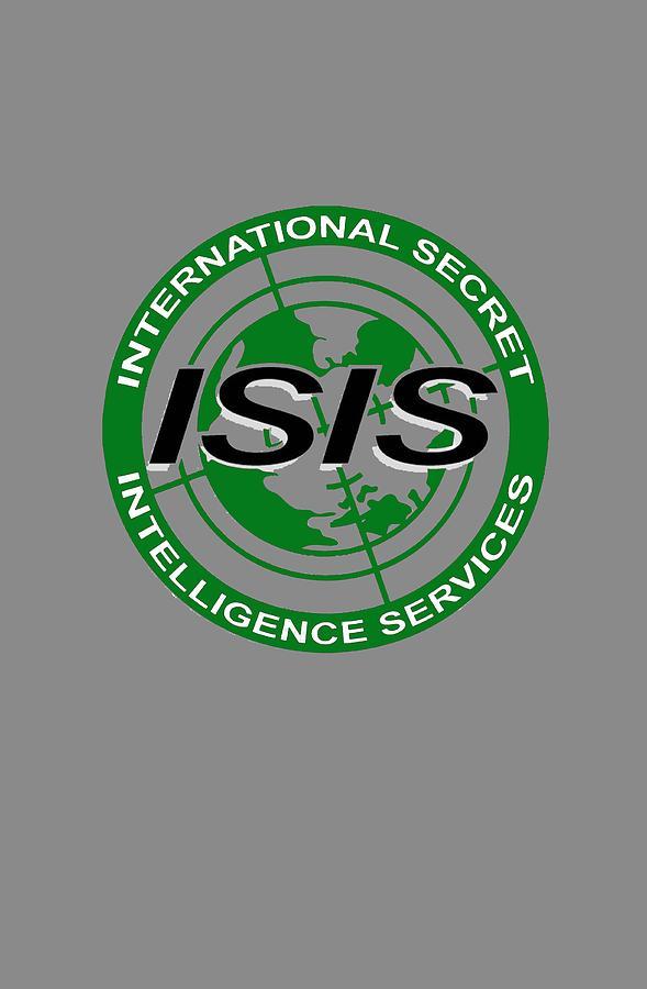 Isis Digital Art - International Secret Intelligence Servrice by Gazz Wood
