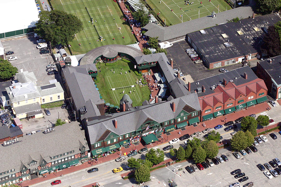 Newport Photograph - International Tennis Hall Of Fame 194 Bellevue Avenue Newport Ri 02840 3586 by Duncan Pearson