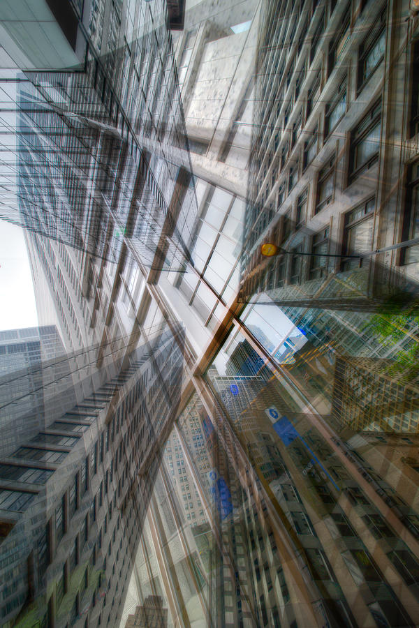 Digital Photograph - Intersection 10 by Kevin Eatinger