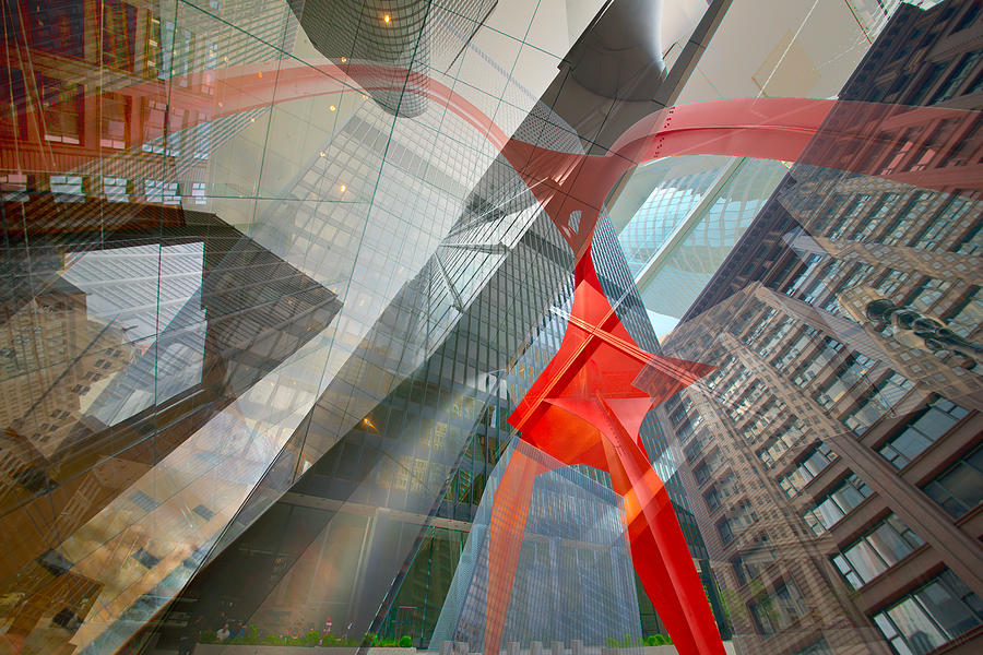 Digital Photograph - Intersection 11 by Kevin Eatinger