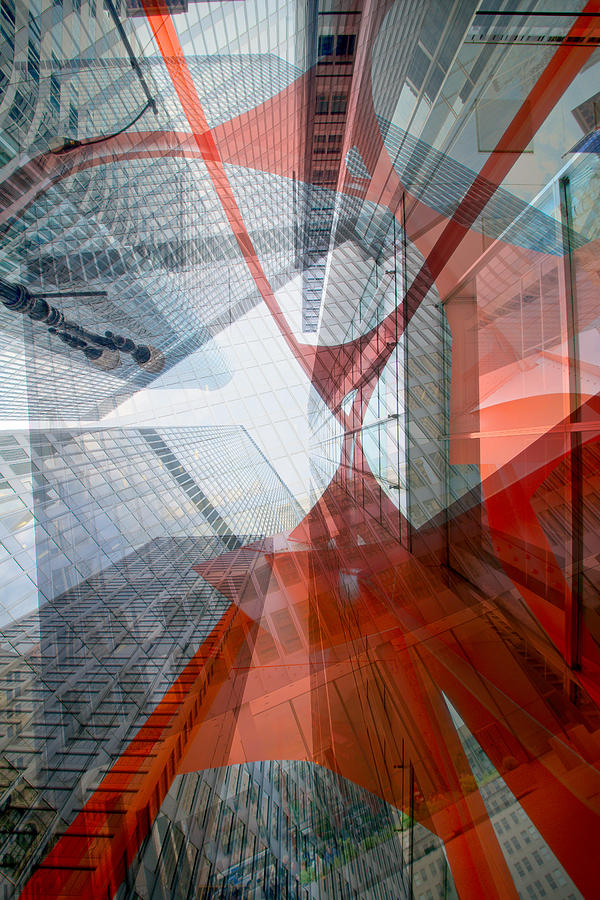 Digital Photograph - Intersection 12 by Kevin Eatinger