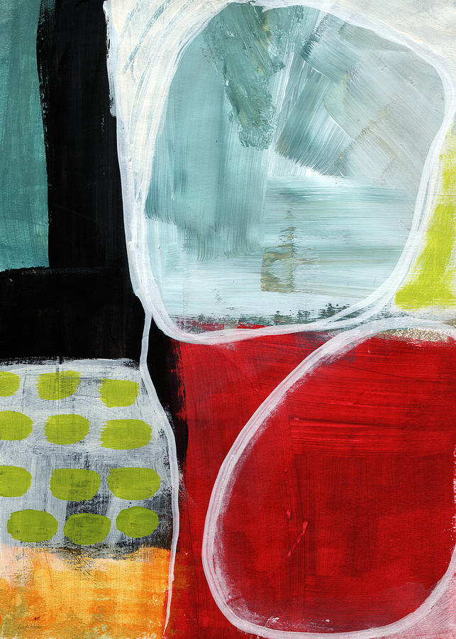 Abstract Painting - Intersection 37- Abstract Art by Linda Woods