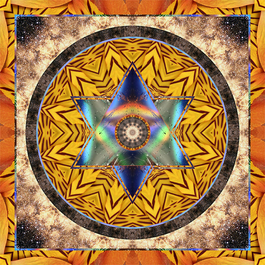 Chakras Photograph - Interspectra by Bell And Todd