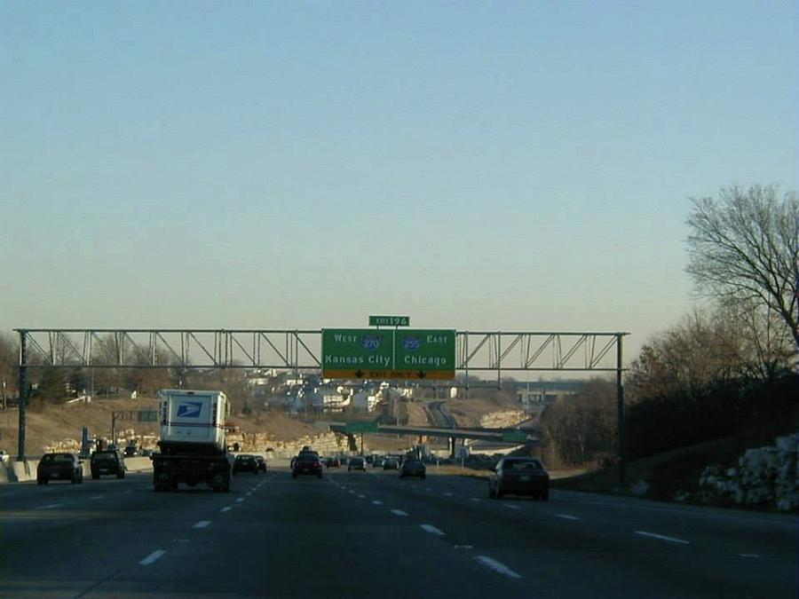 Interstate 55 north at exit 196 interstate 270 interstate 255 st louis photograph interstate 55 north at exit 196 interstate 270 interstate publicscrutiny Images