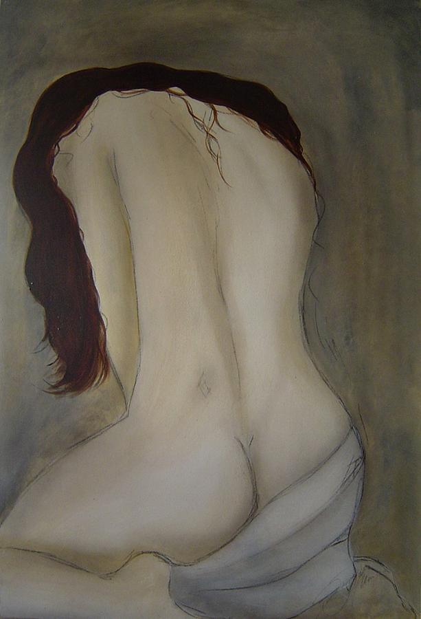 Nude Painting - Intimacy by Bridgette  Allan