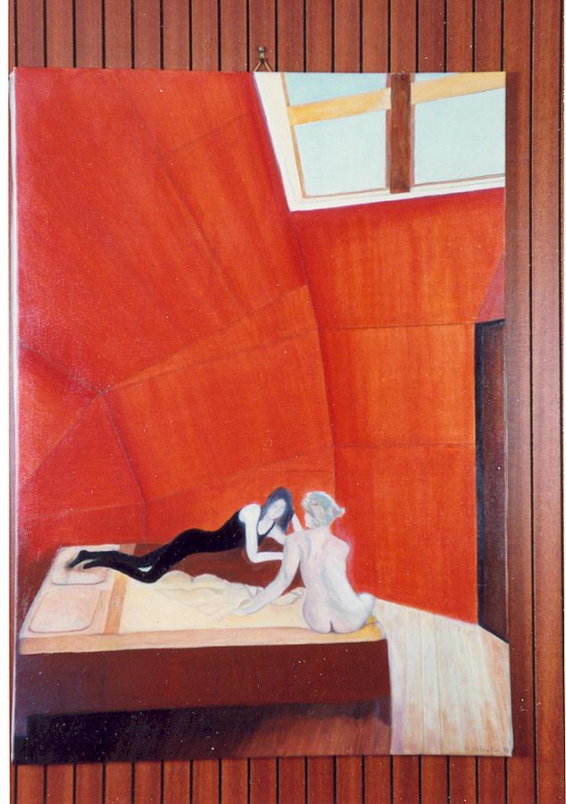 Interior Painting - Intimity by Nadine Valentin