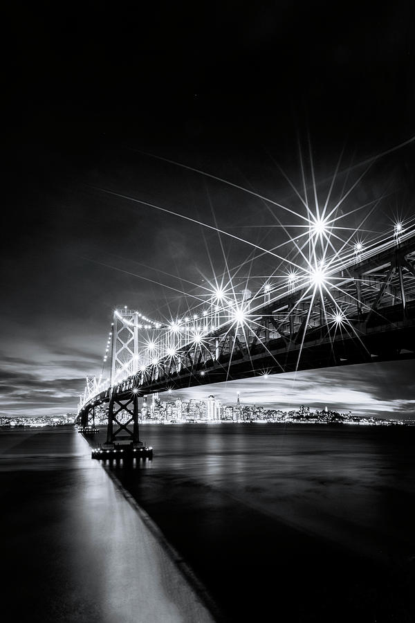 Into The City, Black And White Photograph by Vincent James