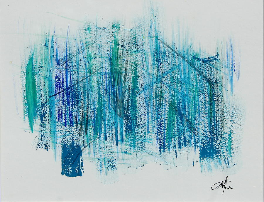 Forest Painting - Into The Forest by Tom Atkins