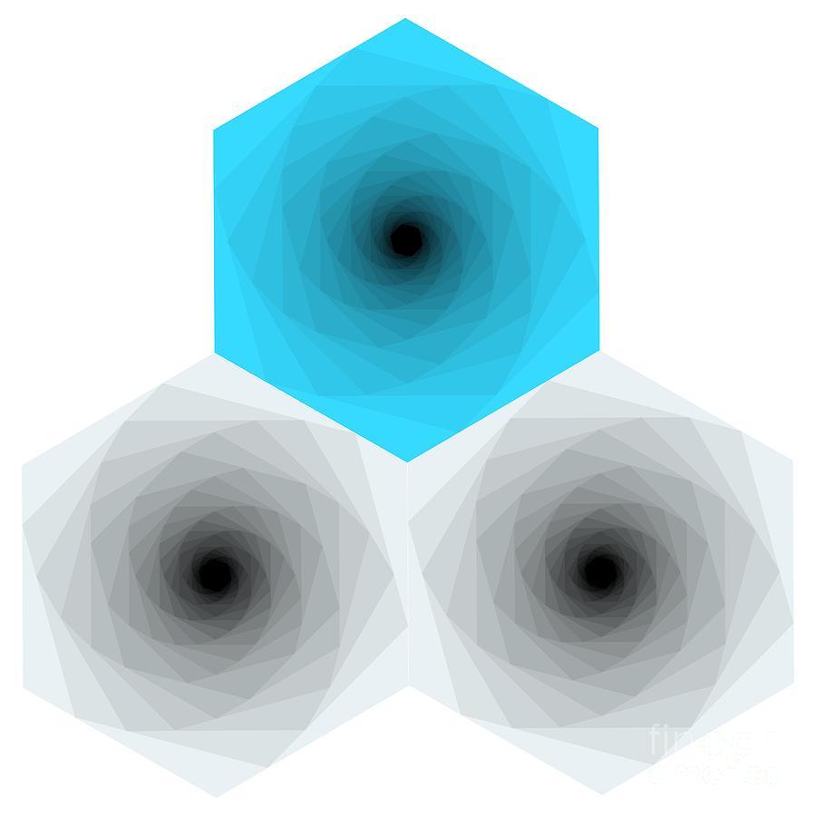 Hexagon Photograph - Into The Hexagons. by Cesar Padilla