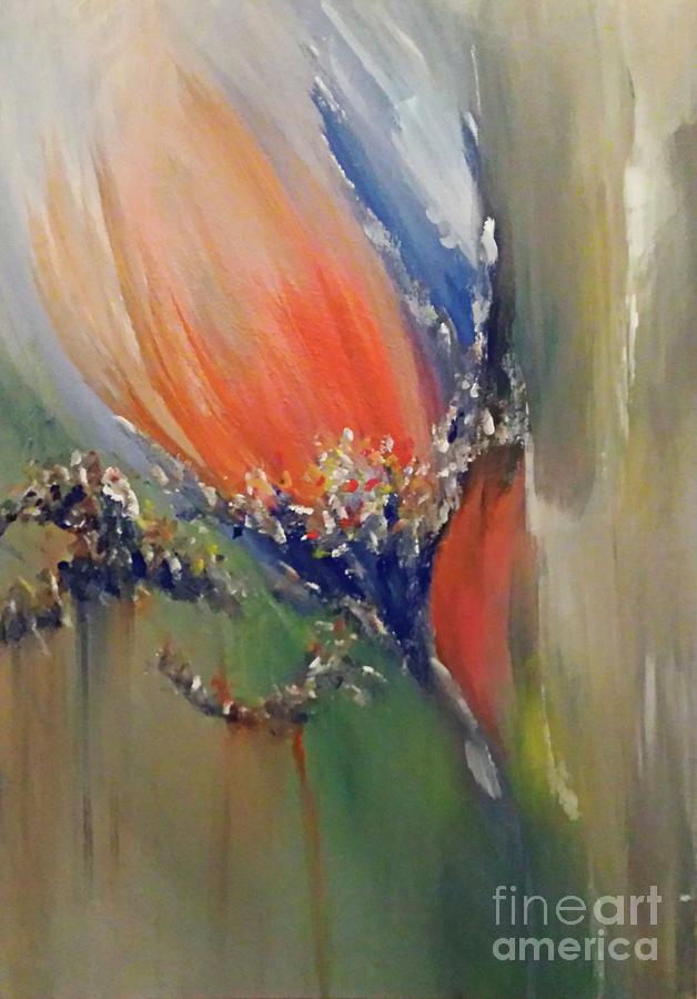 Abstracts Painting - Into The Light by Brendan Ludlow