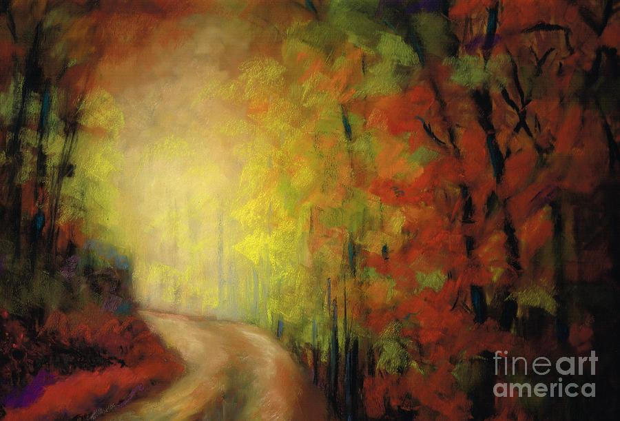 Landscape Painting - Into The Light by Frances Marino