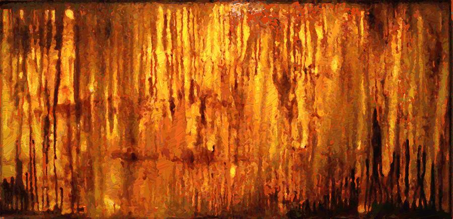 Love Painting - Into The Light by Hengameh Kaghazchi