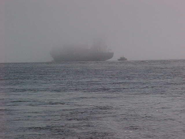 Ocean Photograph - Into The Mist by Ricky  Rayburn