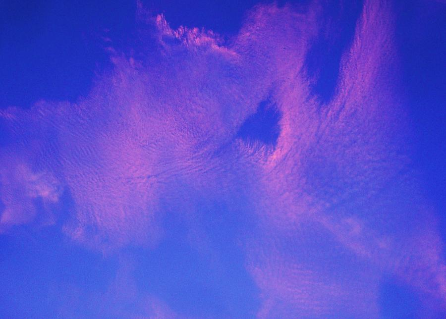 Clouds Photograph - Into The Night by Steve Ponting